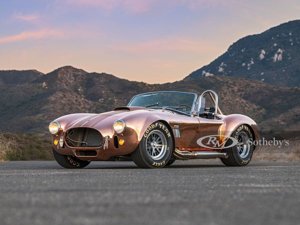 RM Sotheby's Is Selling Three Uniquely Built CSX4000 Series 427 Shelby Cobras