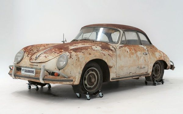Rusted Out Barn Find Porsche Sells For Ludicrous Price