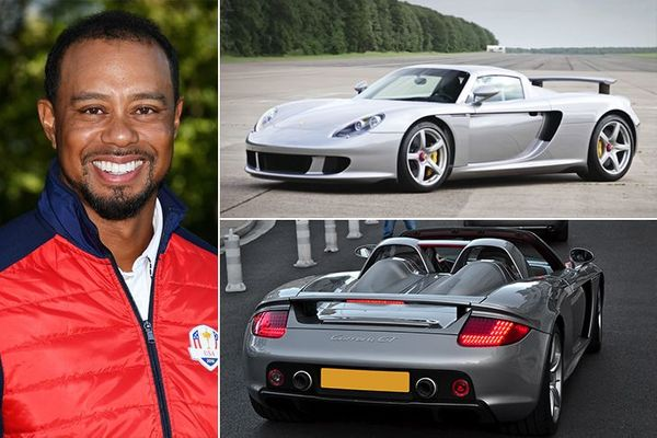 Tiger Woods Has A Car Collection Meant For A Master