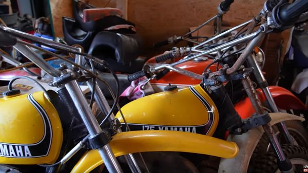 Motorcycle Monday: Thousands Of Barn Find Bikes