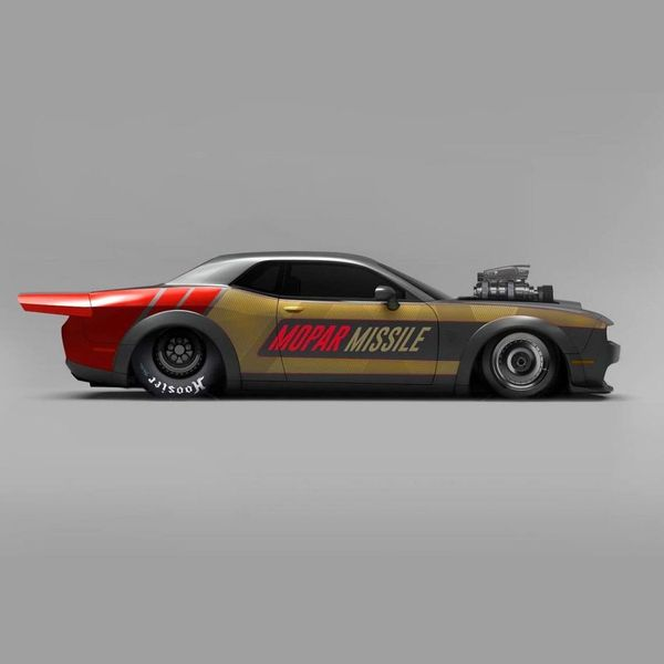 Mopar Missiles Brought To Life In Insane Dodge Demon Rendering